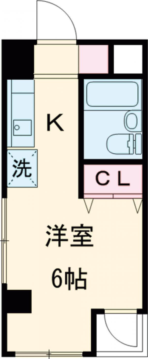 永山CSビル 301号室の間取り