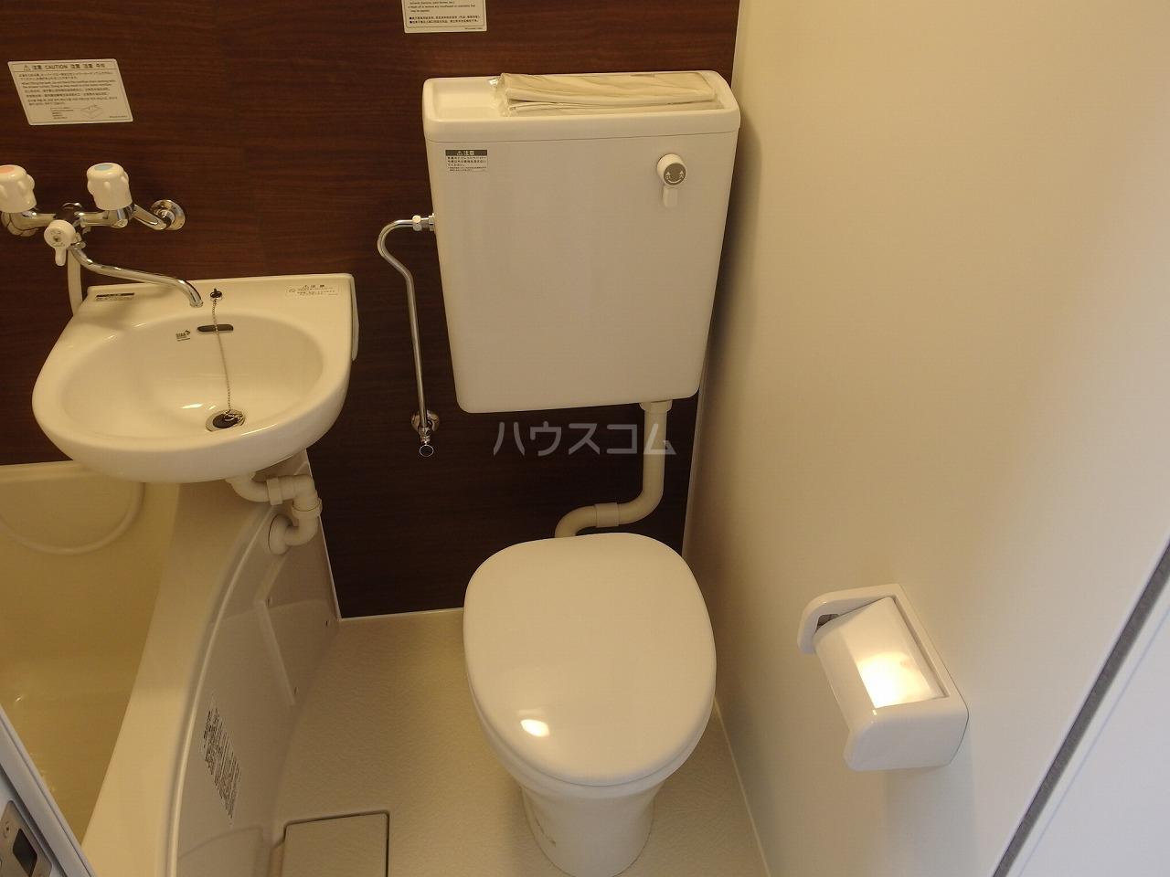 永山CSビル 301号室のトイレ