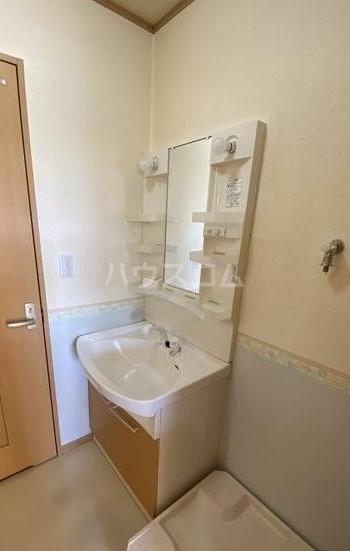 ニュータウン瑞穂D棟 202号室の洗面所
