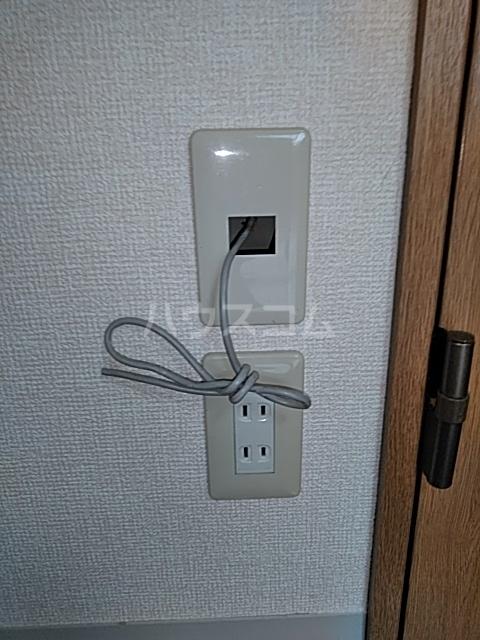 ヴィラコンテッサ原 205号室のセキュリティ
