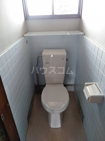 纐纈ビル 302号室のトイレ