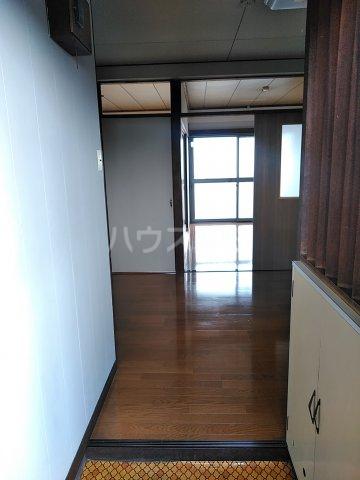 纐纈ビル 302号室の玄関