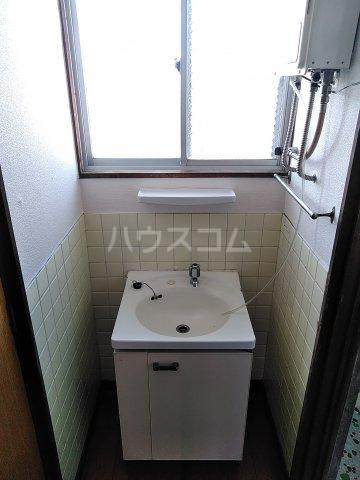 浅野ビル 301号室の洗面所