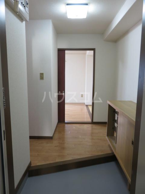 パークサイド城北 203号室の玄関