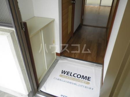 ハイム辻A 102号室の玄関