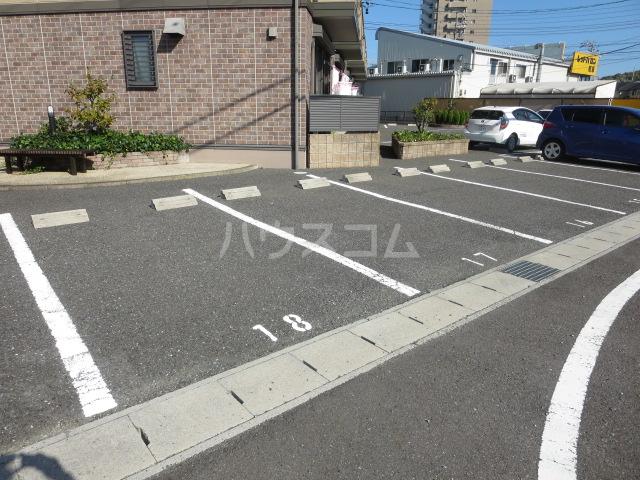 セジュールきよしA 101号室の駐車場