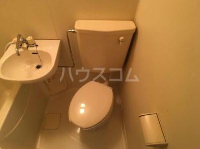 リコリスB 125号室のトイレ