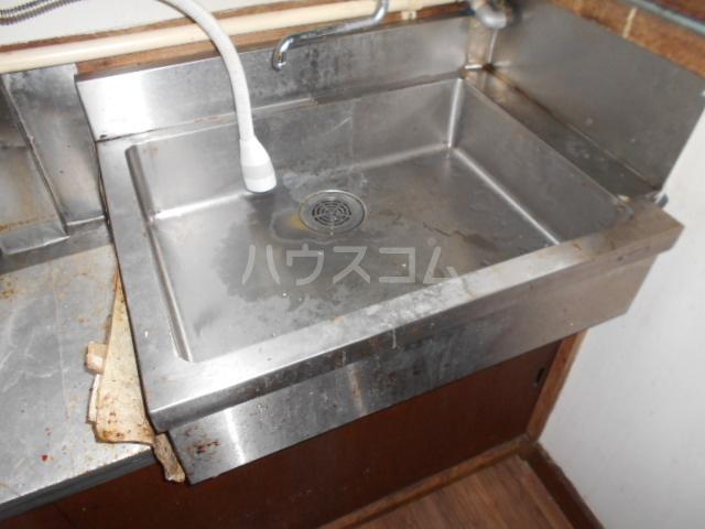 下田アパート 6号室の洗面所