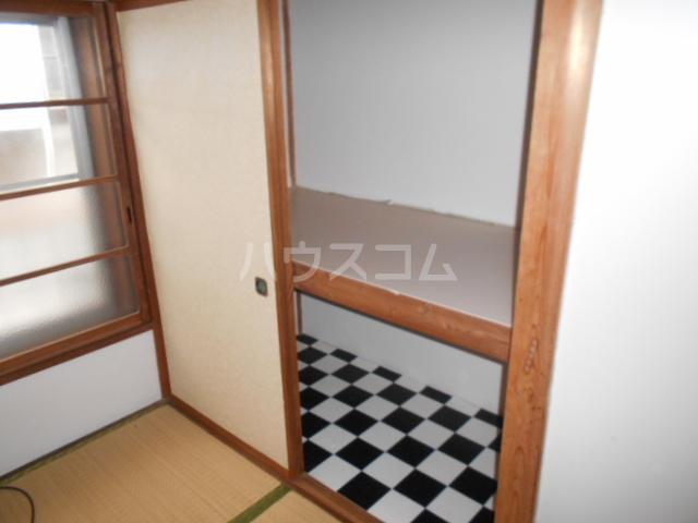 下田アパート 6号室の収納