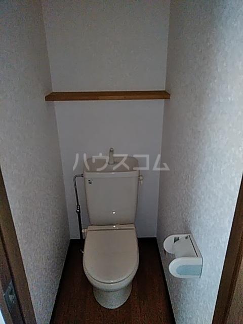 アリビラ原 106号室のトイレ