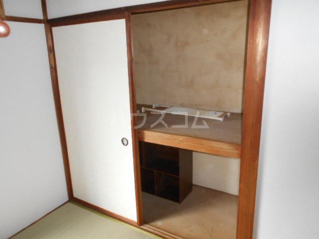 下田アパート 5号室の収納