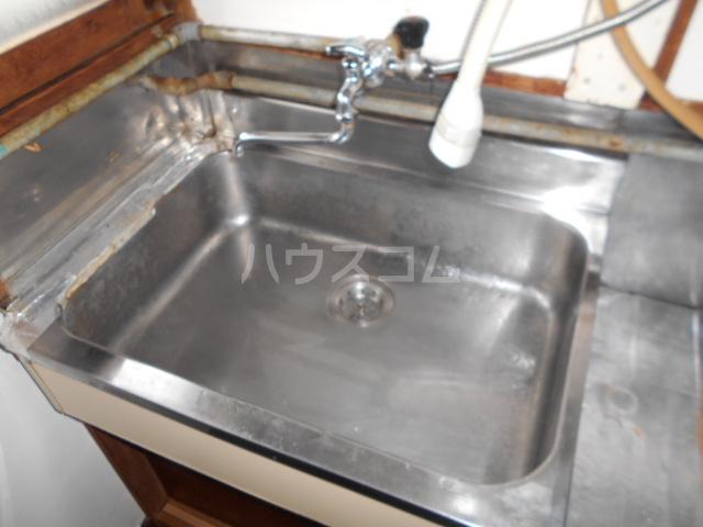 下田アパート 5号室の洗面所