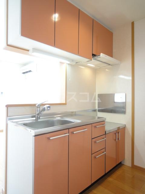 プラシード・Ⅱ 02030号室のキッチン