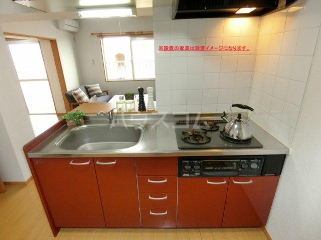 加藤ビルⅠ 502号室のキッチン