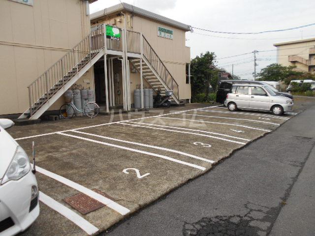 シティハイム池上B 102号室の駐車場