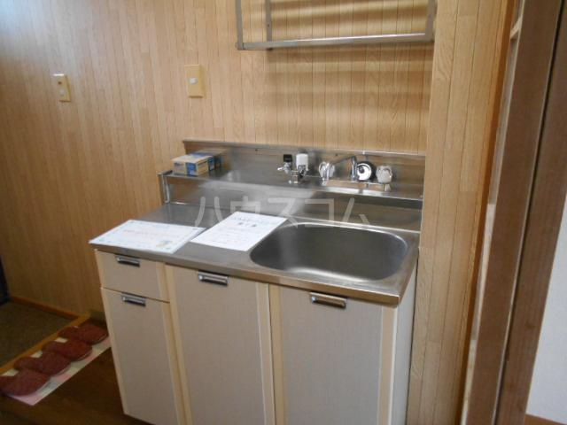シティハイム池上B 102号室のキッチン