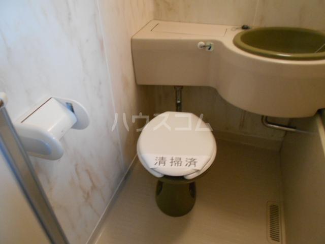 シティハイム池上B 102号室のトイレ
