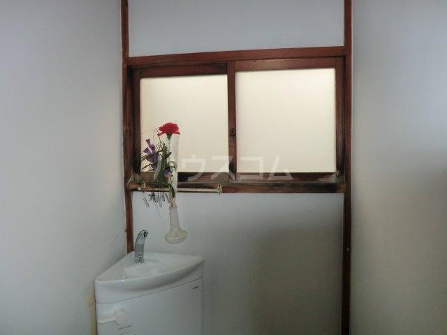 今井荘 3号室のトイレ