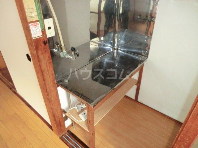 今井荘 3号室のキッチン