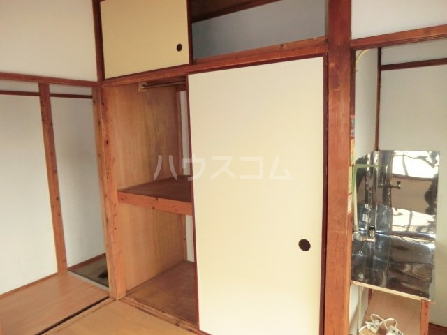 今井荘 3号室の収納