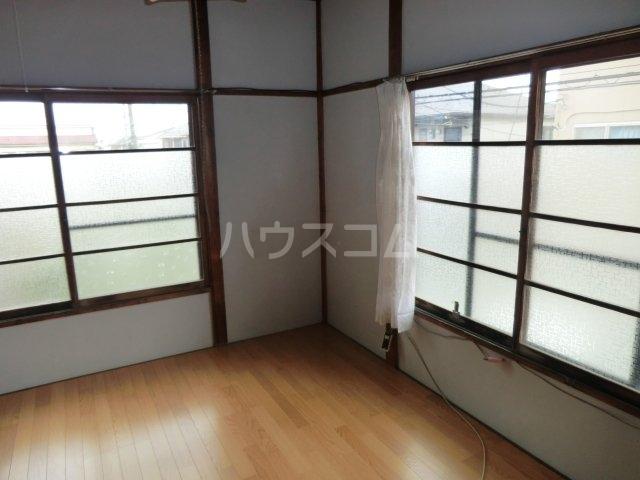 今井荘 3号室のベッドルーム