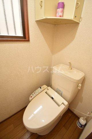 下赤坂戸建てのトイレ