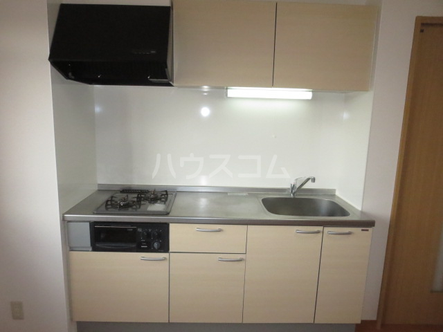 アンドウビル 205号室のキッチン
