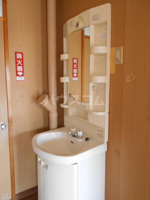 ホワイトハイツ 403号室の洗面所