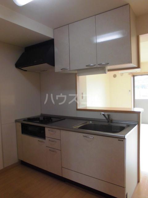 ソル・フレッサ 403号室のキッチン