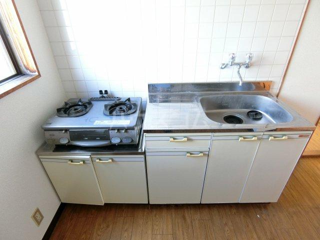 スカイピア・ソロ 404号室のキッチン