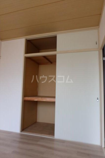 セントラルカペラ 201号室の収納