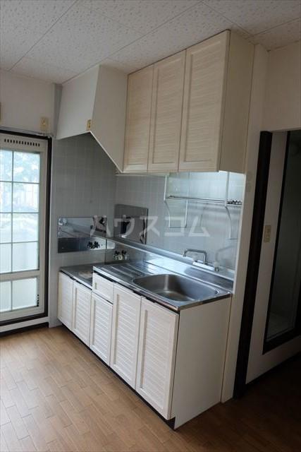 セントラルカペラ 201号室のキッチン