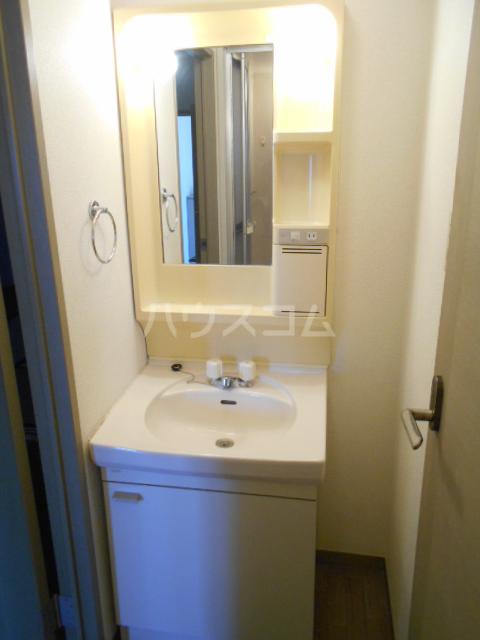 プラムハイツC 202号室の洗面所