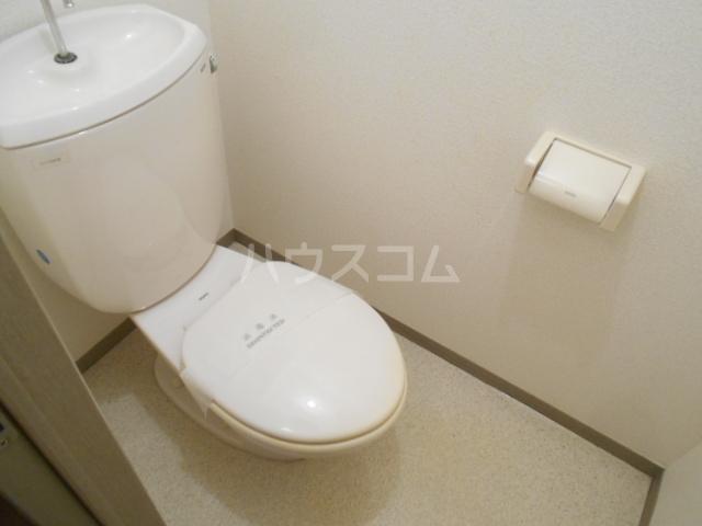 プラムハイツC 202号室のトイレ