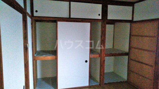 中村アパート 205号室の収納