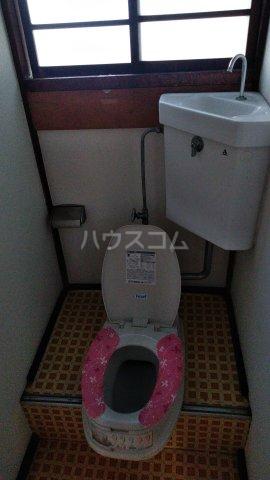 中村アパート 205号室のトイレ
