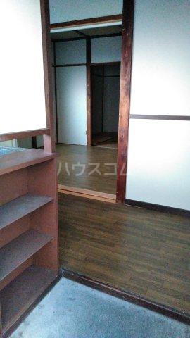 中村アパート 205号室の玄関