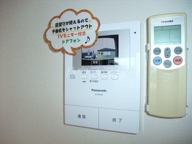 サンシャイン.B.江藤 102号室のセキュリティ