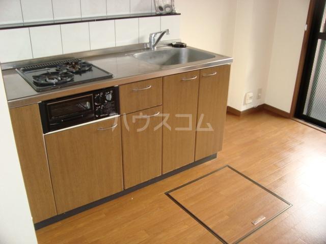 サンシャイン.B.江藤 102号室のキッチン