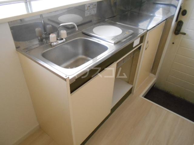 清水ハイツ 211号室のキッチン