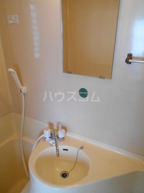 清水ハイツ 211号室の洗面所