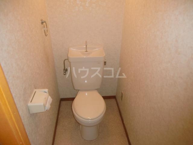 サングリーンメゾン 4B号室のトイレ