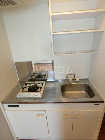 ケンジントン 307号室のキッチン