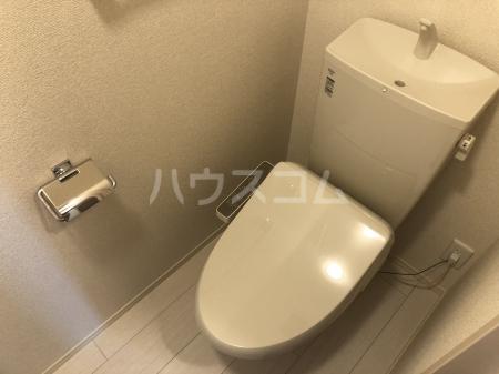 フェリシティ白山 101号室のトイレ
