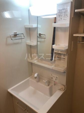 フェリシティ白山 101号室の洗面所