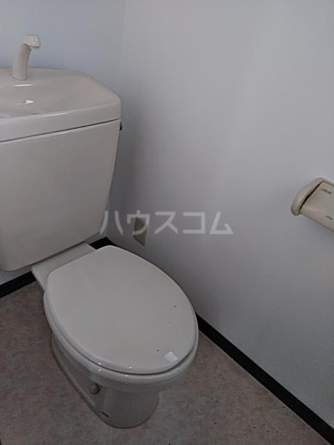 コーポラスエルピス 302号室のトイレ