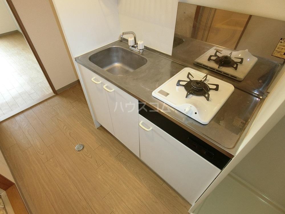 PLUS O2 BUILD 301号室のキッチン