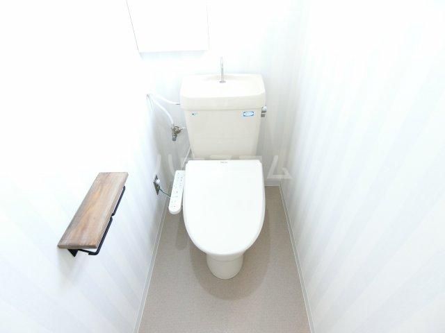 コーポレーションT&T C201号室のトイレ