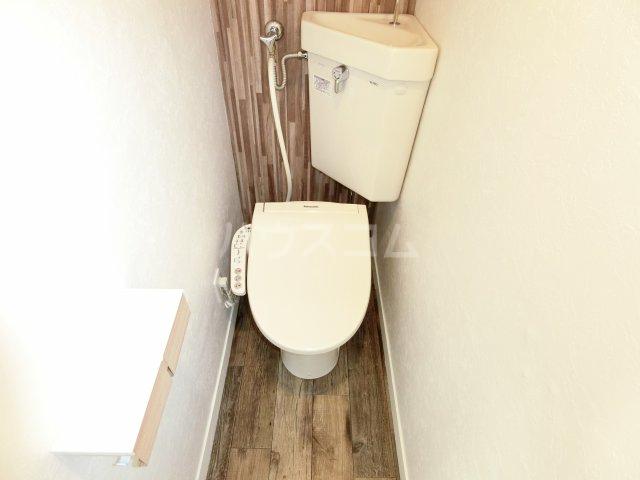 インフィール茜部 3B号室のトイレ