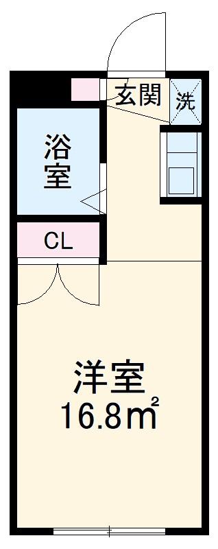 コンフォートマンション北戸田 538号室の間取り